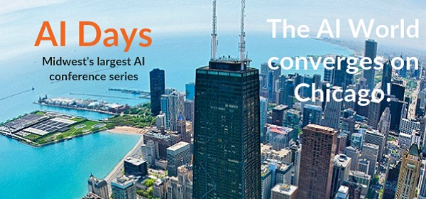 Midwest's largest applied AI event series | www.chicagoaidays.com
